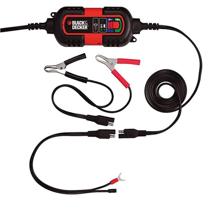 Cargador de batería de coche BlackDecker-BDV090