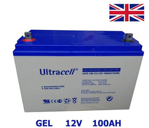 batería 12V ultracell