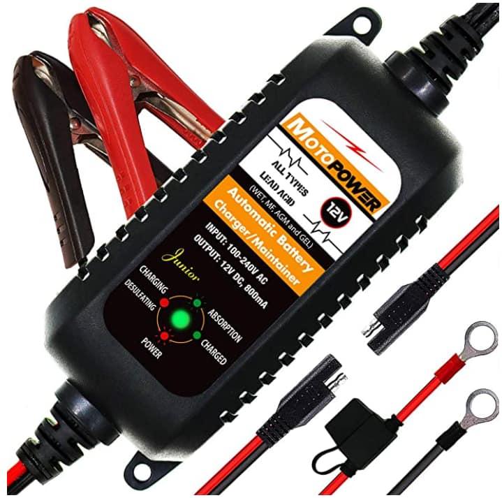 cargador batería Motorpower 12v