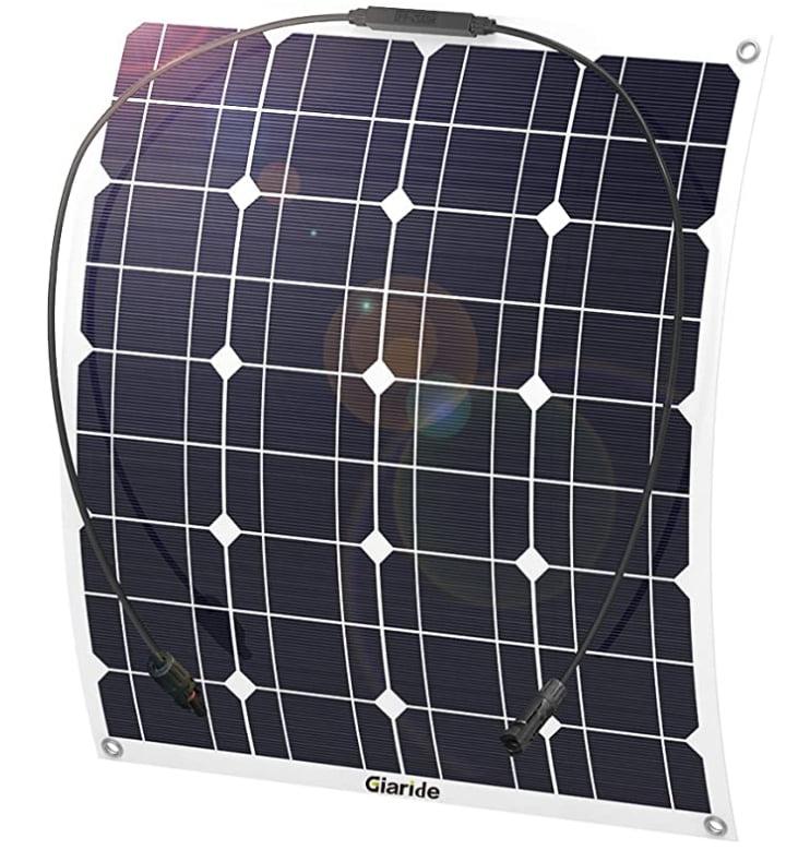placa solar 12v flexible