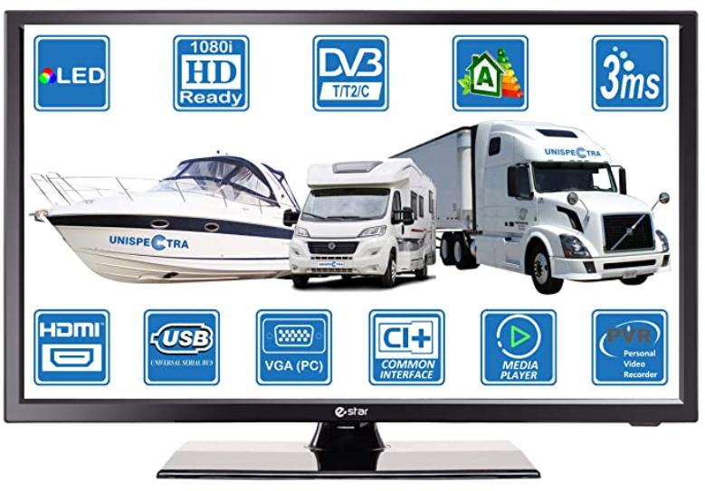 televisor digital 12v